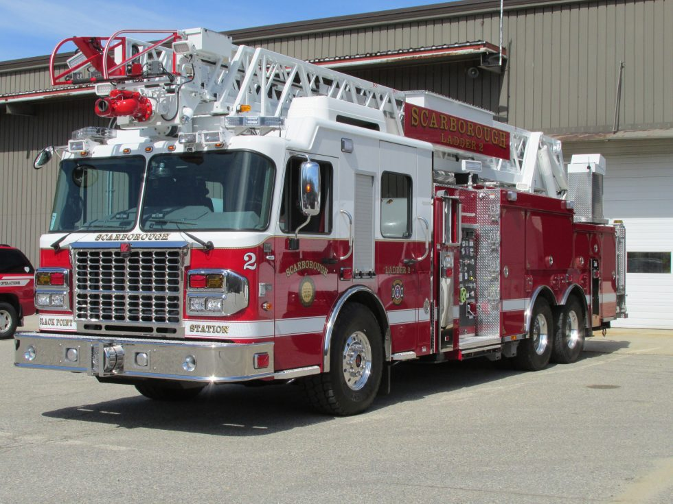 105′ HD aerial on a Custom Chassis