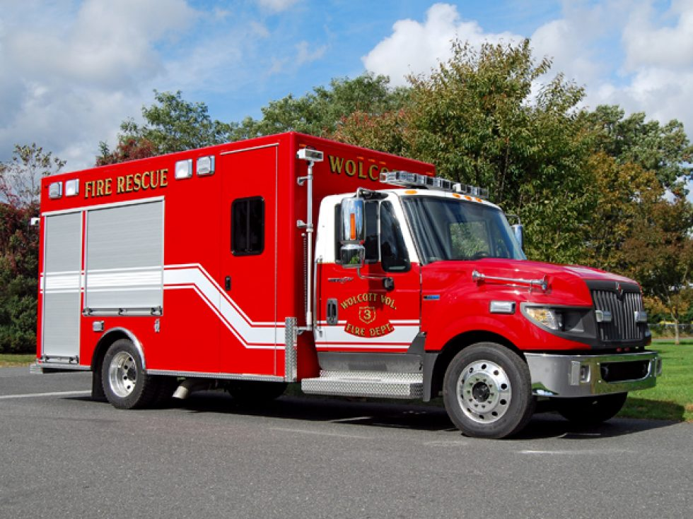 14′ Rescue on International Chassis