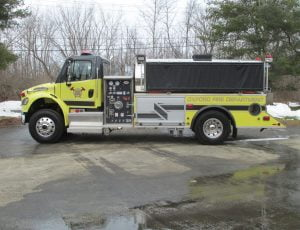 Spartan 2000 Gallon Tanker on FL M2 Chassis