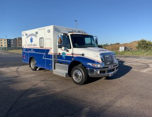 PL Titan ambulance on IHC 4300