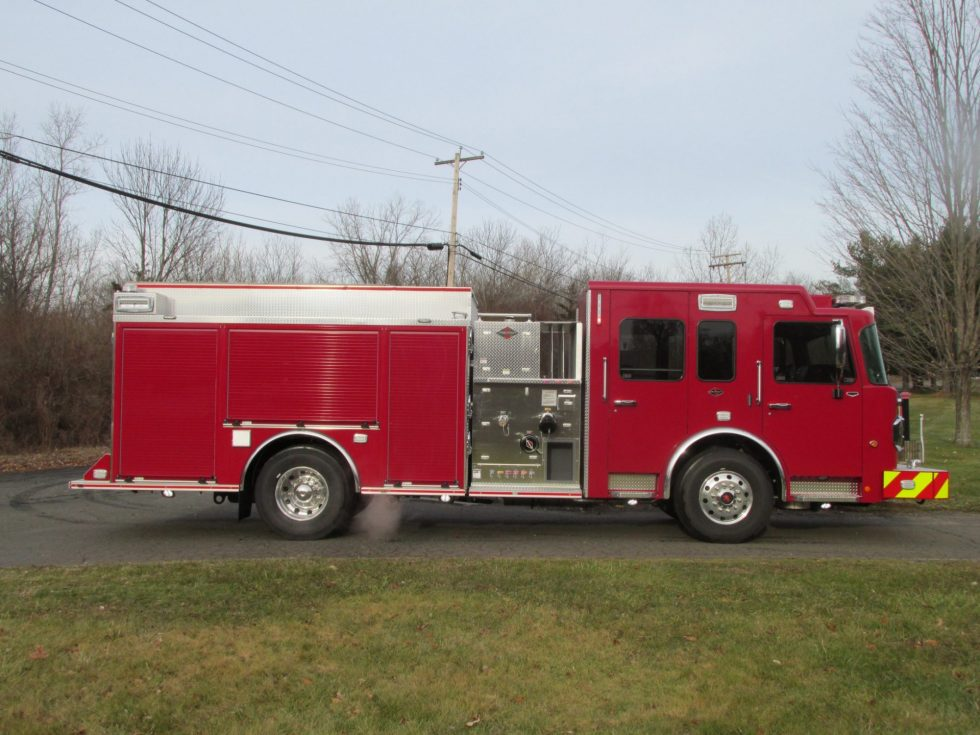 S-180 Side Mount Pumper on a Custom Chassis