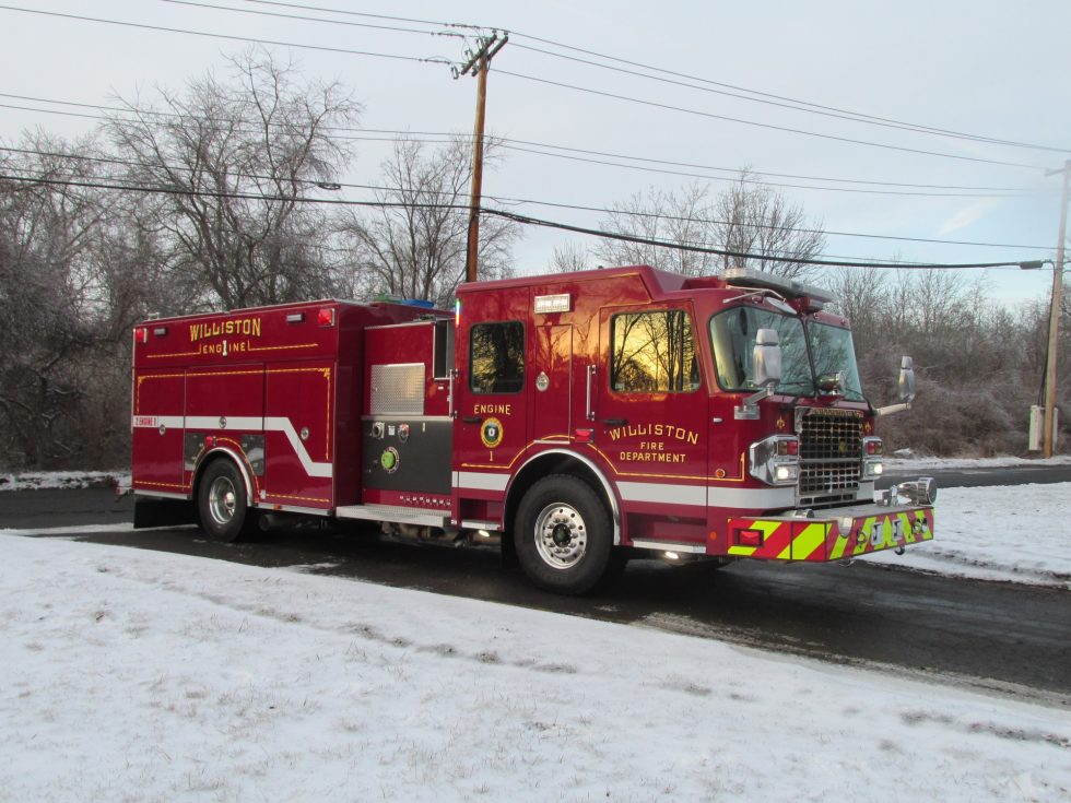 Side Mount Pumper on a Custom Chassis