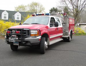 1999 FORD F-550 MINI PUMPER
