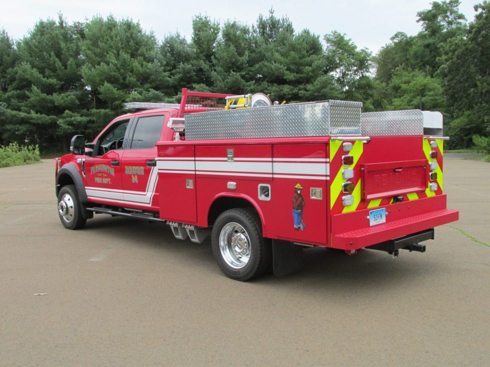 2019 Brush Truck on a F-550 Chassis