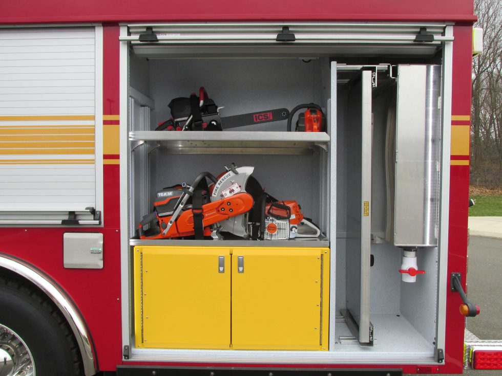 WALK AROUND RESCUE ON A SPARTAN CHASSIS