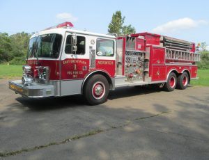 2000 Gallon Tanker on a Custom Chassis